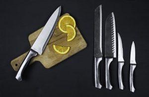 jedne z akcesoriów kuchennych - noże
